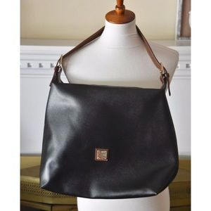Dooney and Bourke pebble leather hobo bag